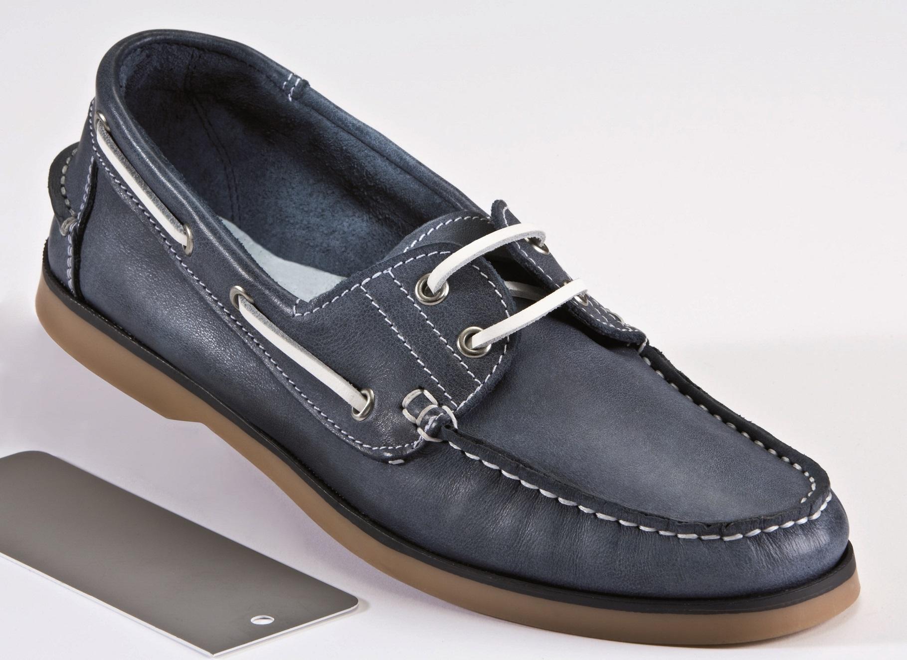 herren leder bootsschuh segelschuh slipper mokassins 44 farbe navy maritim neu ebay. Black Bedroom Furniture Sets. Home Design Ideas