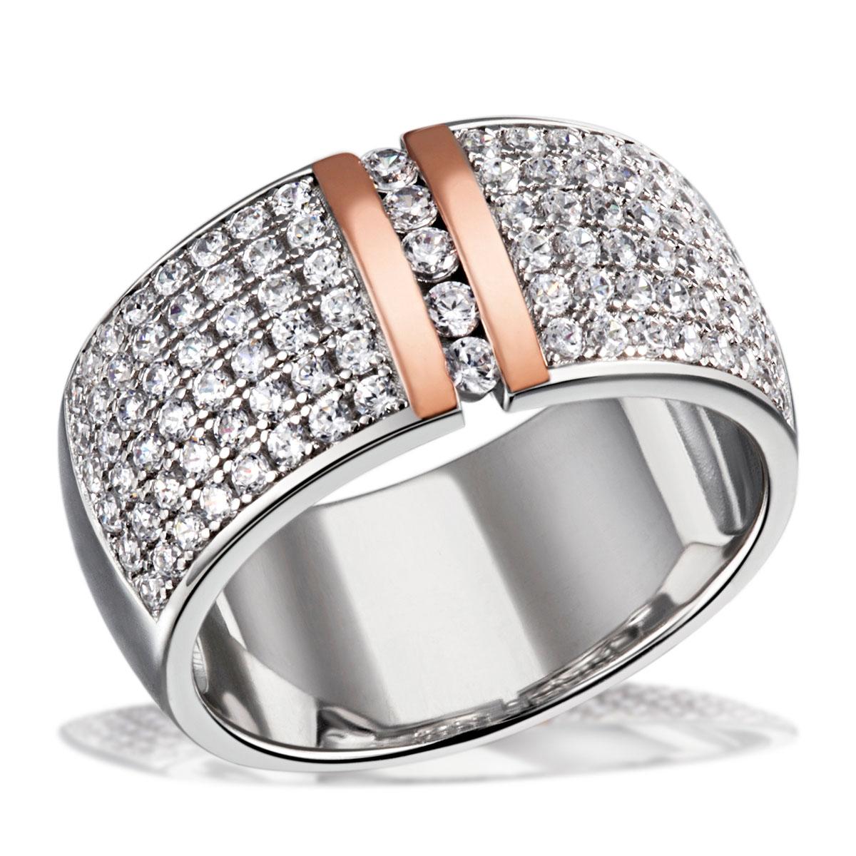 Goldmaid-Kette-Ring-oder-Ohrring-925-Sterlingsilber-Zirkonia-Echtschmuck-NEU