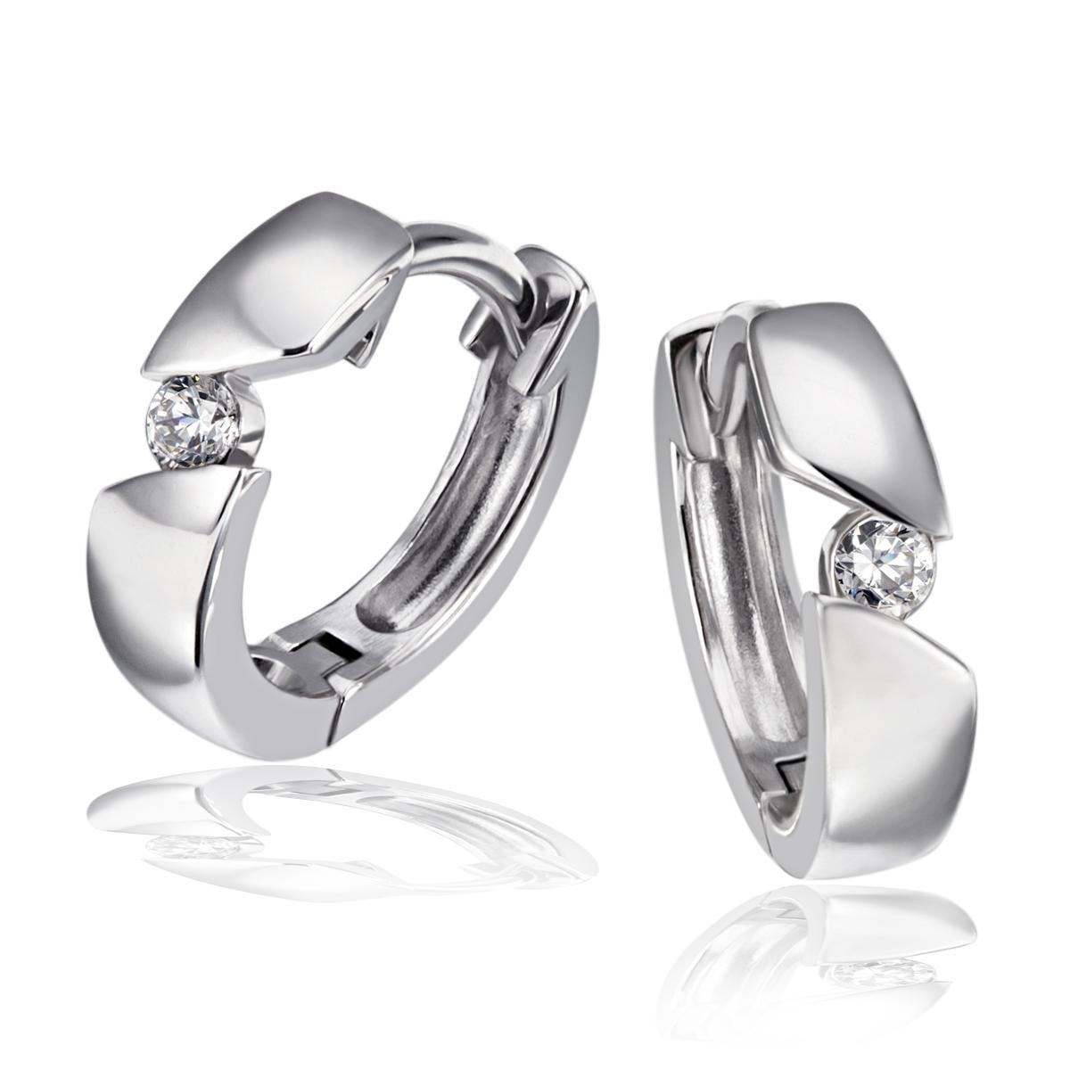 Goldmaid-Ring-Collier-oder-Ohrring-925er-Silber-1Brillant-0-08-ct-Echtschmuck