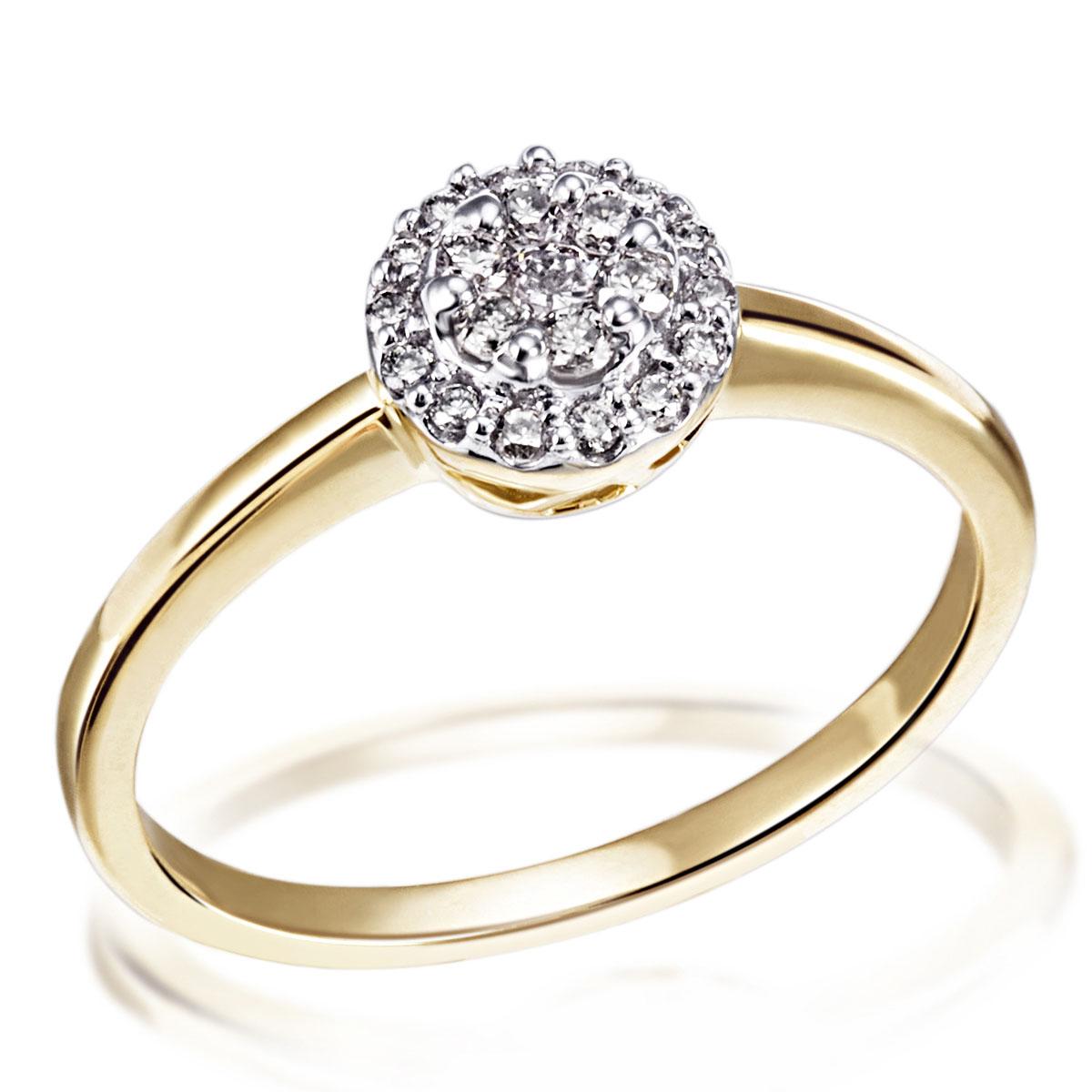 goldmaid ring kette und oder ohrringe 585 gelbgold glamour mit brillanten ebay. Black Bedroom Furniture Sets. Home Design Ideas