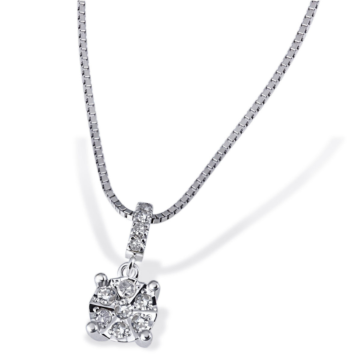 Goldmaid-585-Weiss-oder-Gelbgold-Ring-Collier-oder-Ohrringe-mit-Diamanten