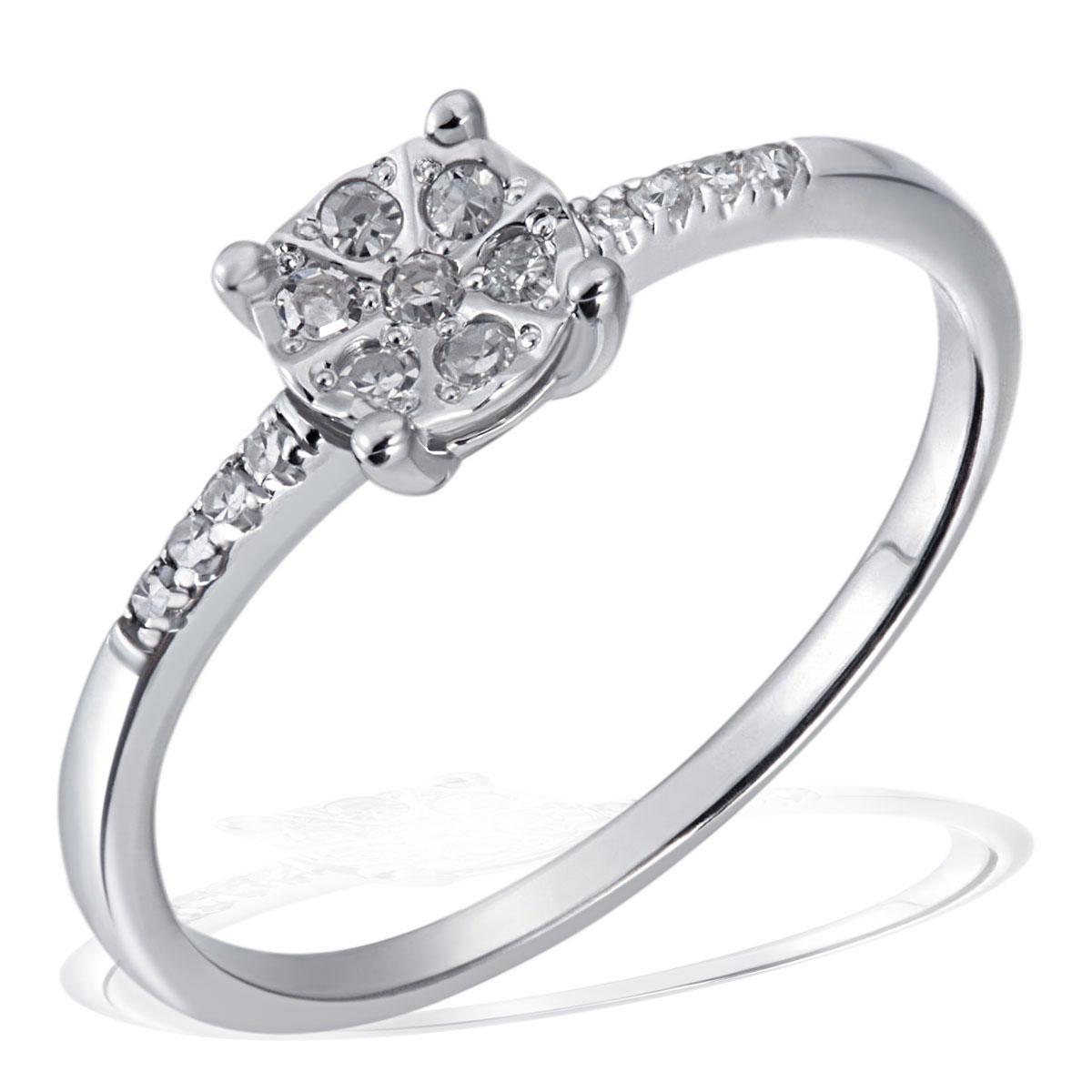 goldmaid damenset 585 wei oder gelbgold ring collier oder ohrringe diamant neu ebay. Black Bedroom Furniture Sets. Home Design Ideas