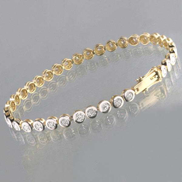 armband gold 585