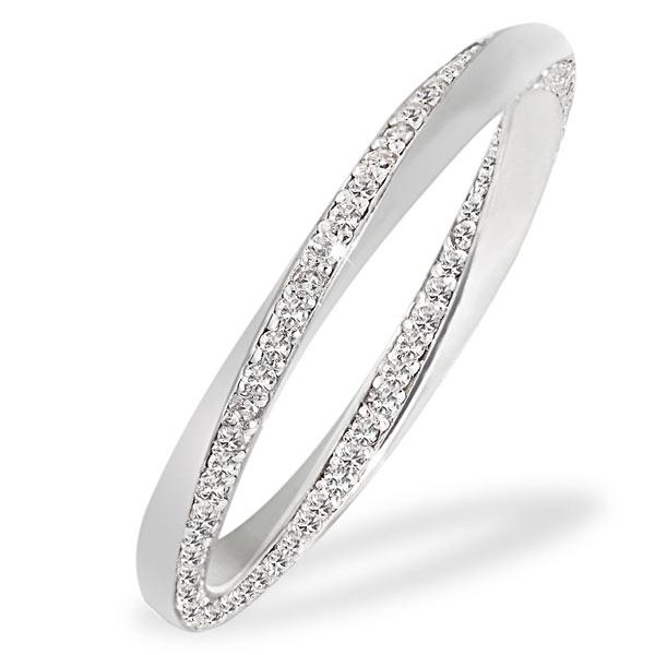 vorsteckring weißgold diamant