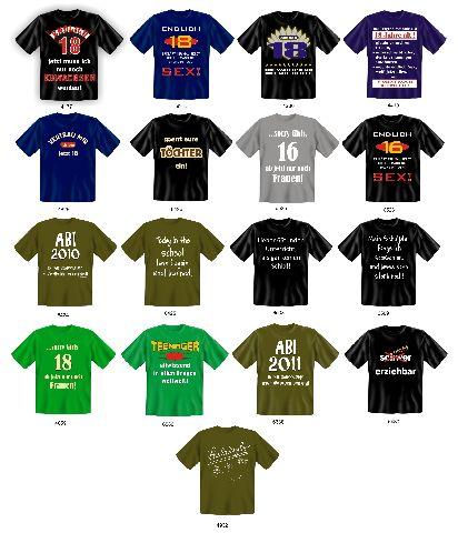 shirt Fun lustige Sprueche 16 18ter Geburtstag Teenager Schule | eBay ...