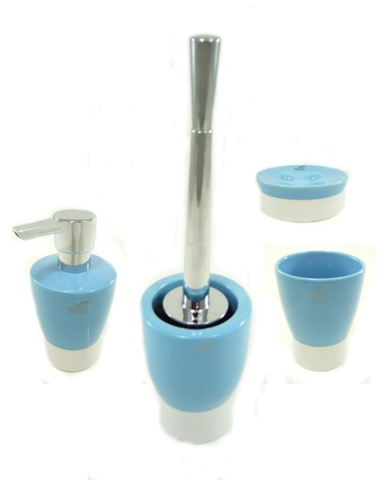 spirella b rstengarnitur bad garnitur opera design wei blau keramik. Black Bedroom Furniture Sets. Home Design Ideas