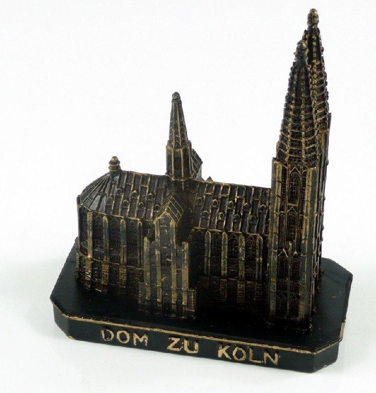cologne cathedral k ln church germany model figure statue cologne souvenir ebay. Black Bedroom Furniture Sets. Home Design Ideas