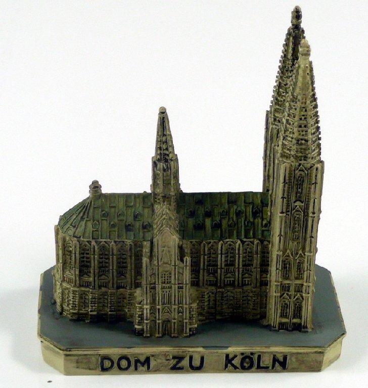 k lner dom k ln kirche deutschland modell figur statue cologne souvenir ebay. Black Bedroom Furniture Sets. Home Design Ideas