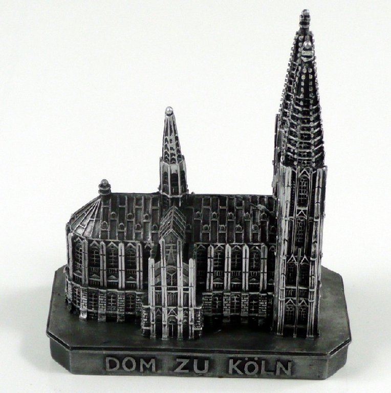 k lner dom k ln kirche deutschland modell figur statue cologne souvenir ebay. Black Bedroom Furniture Sets. Home Design Ideas