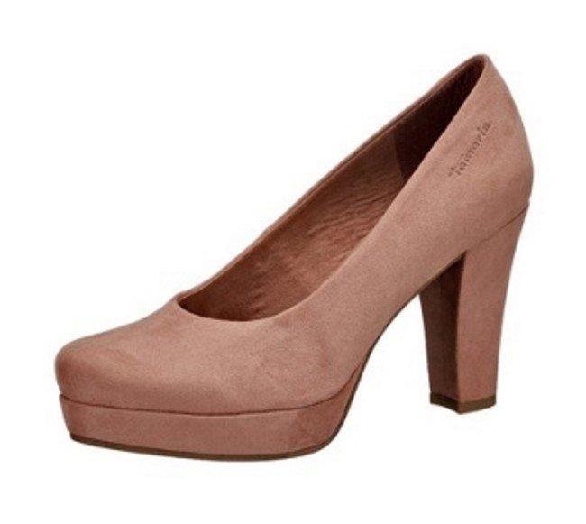 tamaris damen schuhe high heel pumps 9 cm plateau 2 5 cm. Black Bedroom Furniture Sets. Home Design Ideas