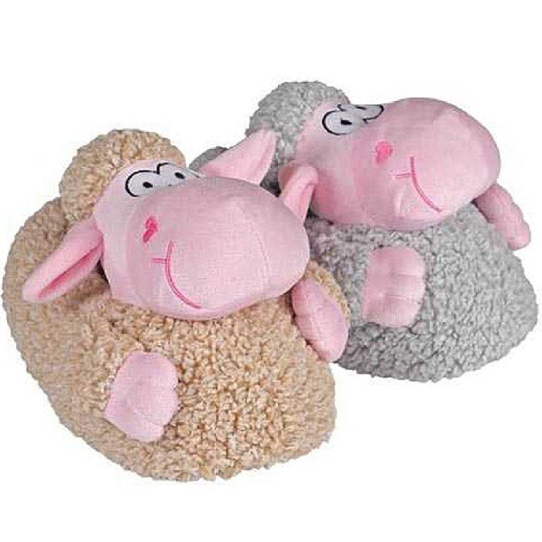 Tierhausschuhe-Huettenschuhe-Pantoffeln-Pluesch-Hausschuhe-Damen-Herren