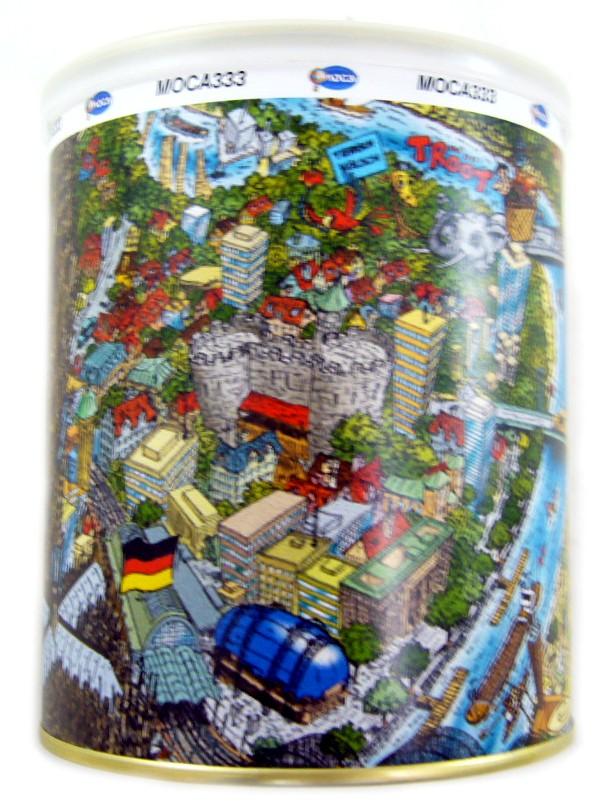 mocca 333 poster colonia cologne puzzle sack dose k ln comic art bernd natke ebay. Black Bedroom Furniture Sets. Home Design Ideas