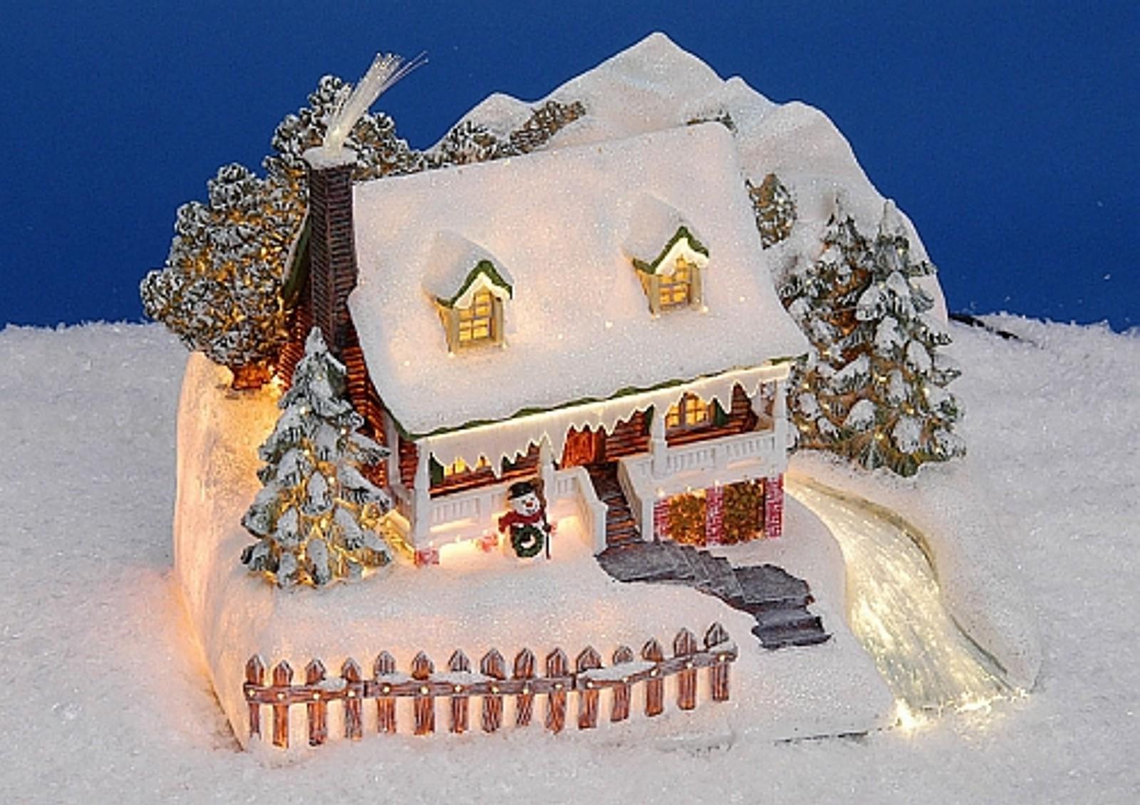 lichthaus g wurm winterdorf lichtkirche deko haus weihnachten mit licht ebay. Black Bedroom Furniture Sets. Home Design Ideas
