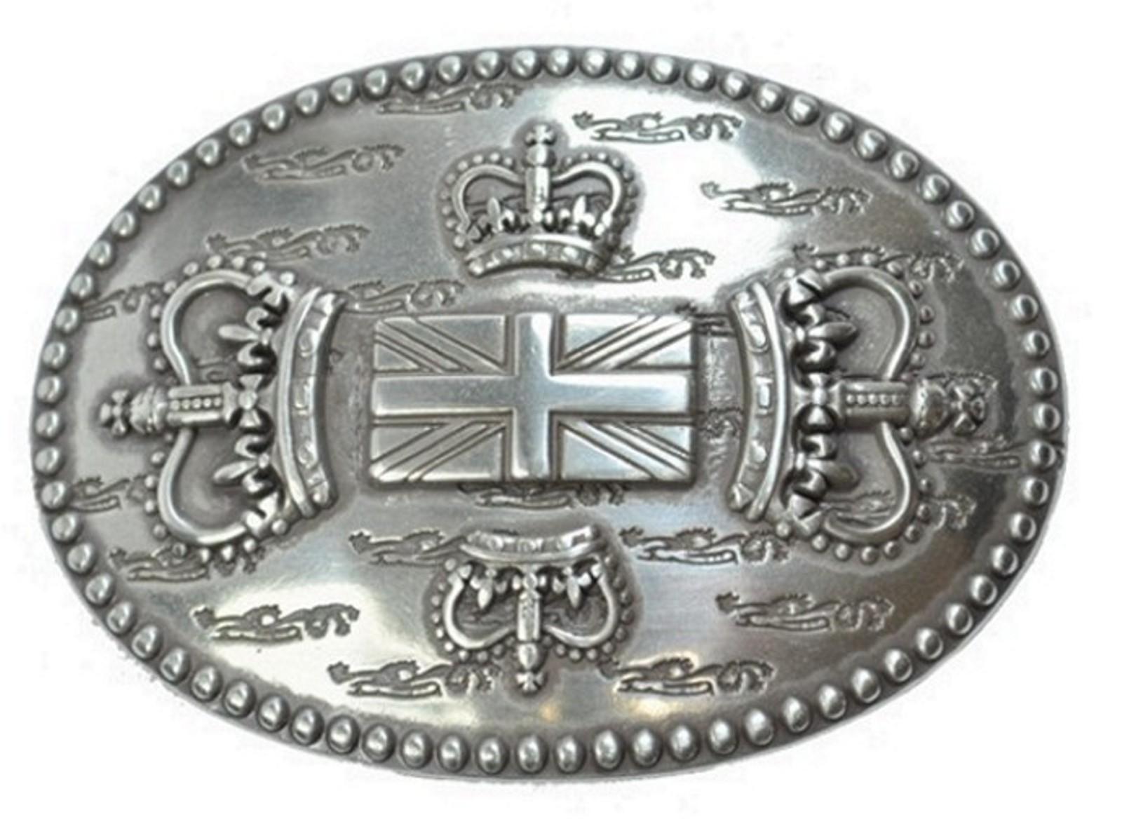Schlie e buckle g rtel schnalle wappen englische krone for Englisch krone