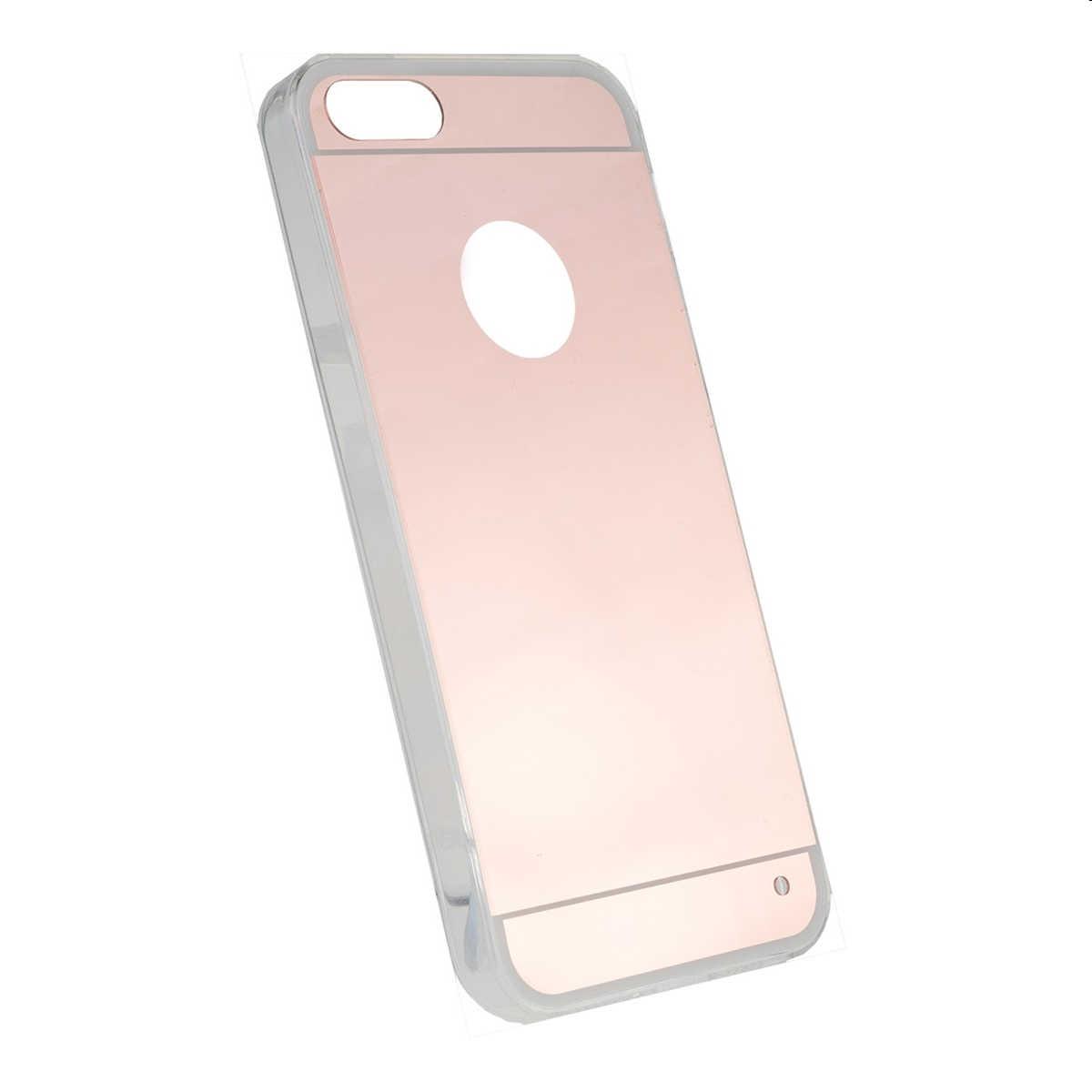 Forcell espejo aluminio tpu carcasa trasera ultra delgada for Espejo transparente