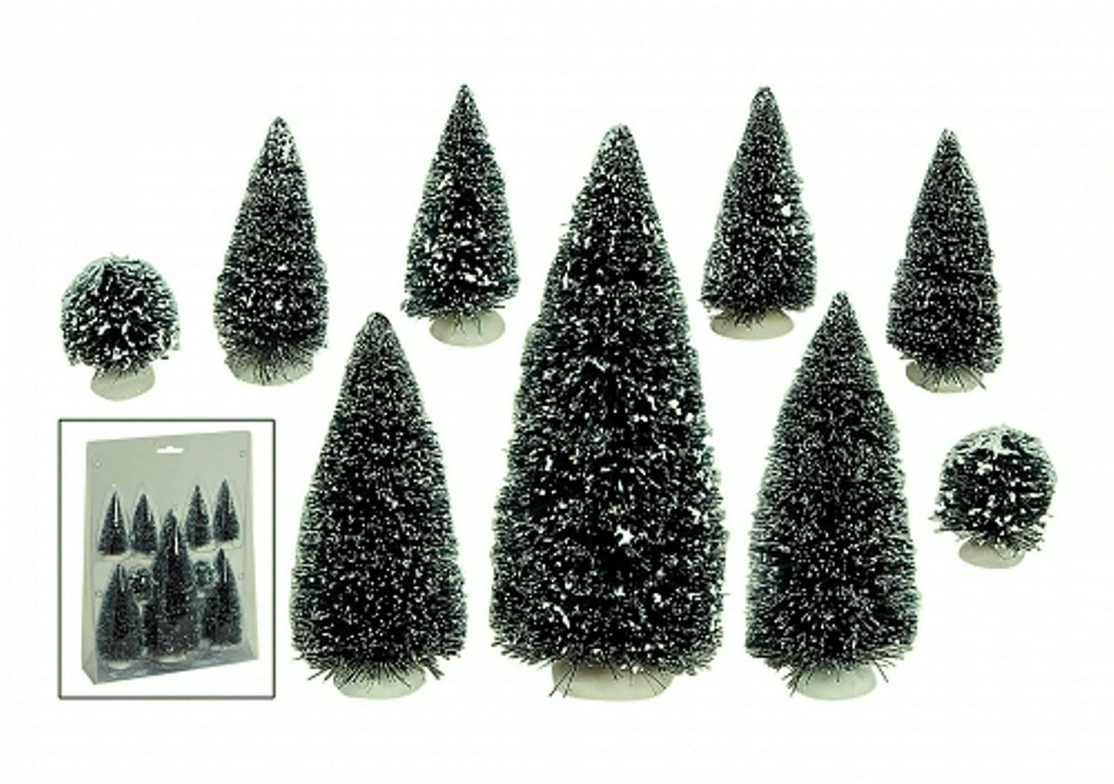 Tannenbaum Set Lichthäuser Wurm Zubehör 9 Teile Tannen Baum Set Weihnachts Baum