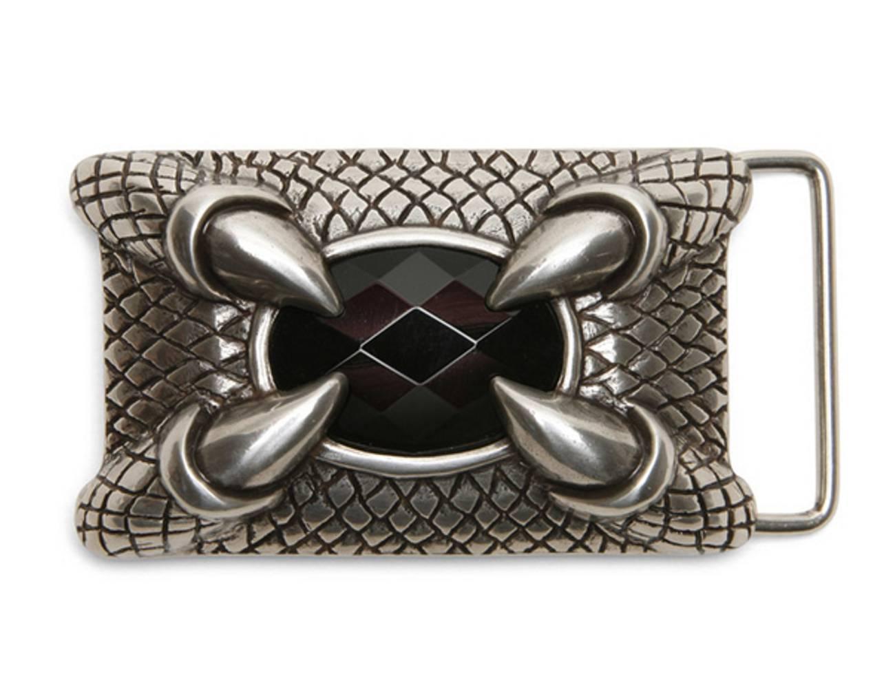 Schließe Buckle Gürtel-Schnalle Dragon Claw Wechselschließe f 4cm Design Gürtel