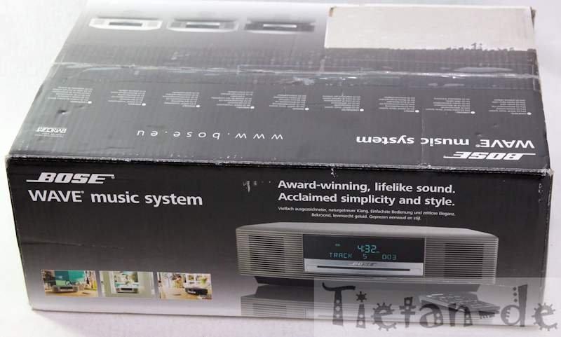 bose wave music system graphite ebay. Black Bedroom Furniture Sets. Home Design Ideas