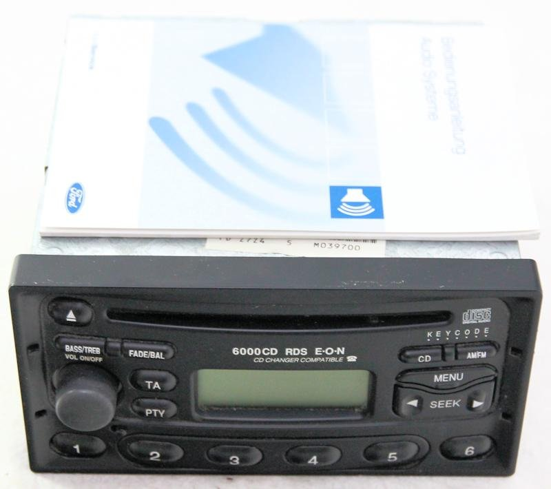 Ford Cd Player 6000 Manual