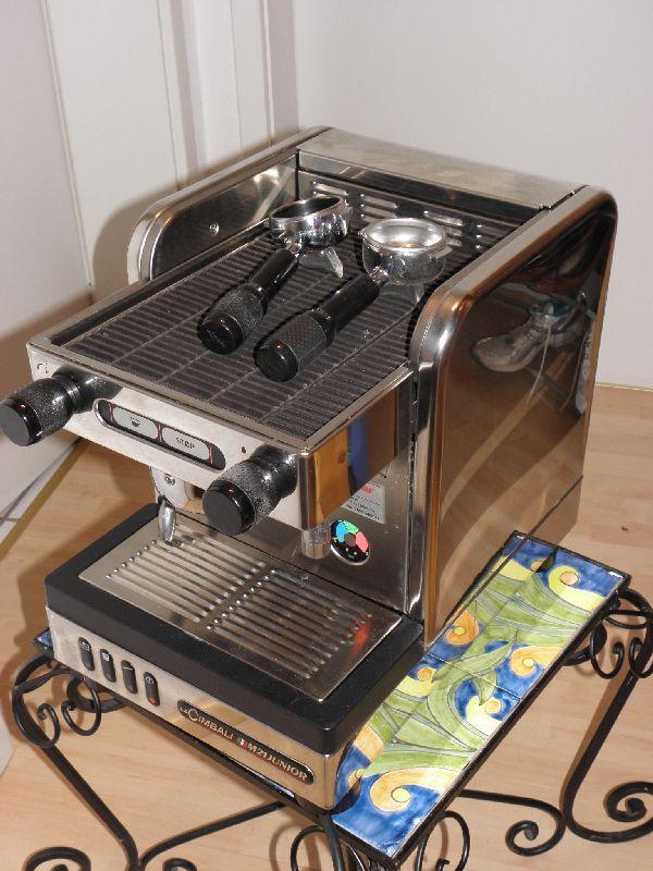 la cimbali m21 junior s 1 kaffeeautomat espressomaschine kaffeemaschine ebay. Black Bedroom Furniture Sets. Home Design Ideas