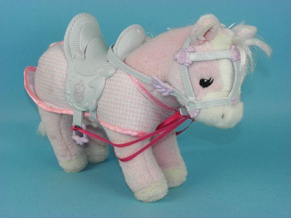 baby born pferd rosa