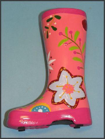 spardose gummistiefel sparb chse keramik 6 verschiedene farben h he 12 5 cm neu ebay. Black Bedroom Furniture Sets. Home Design Ideas