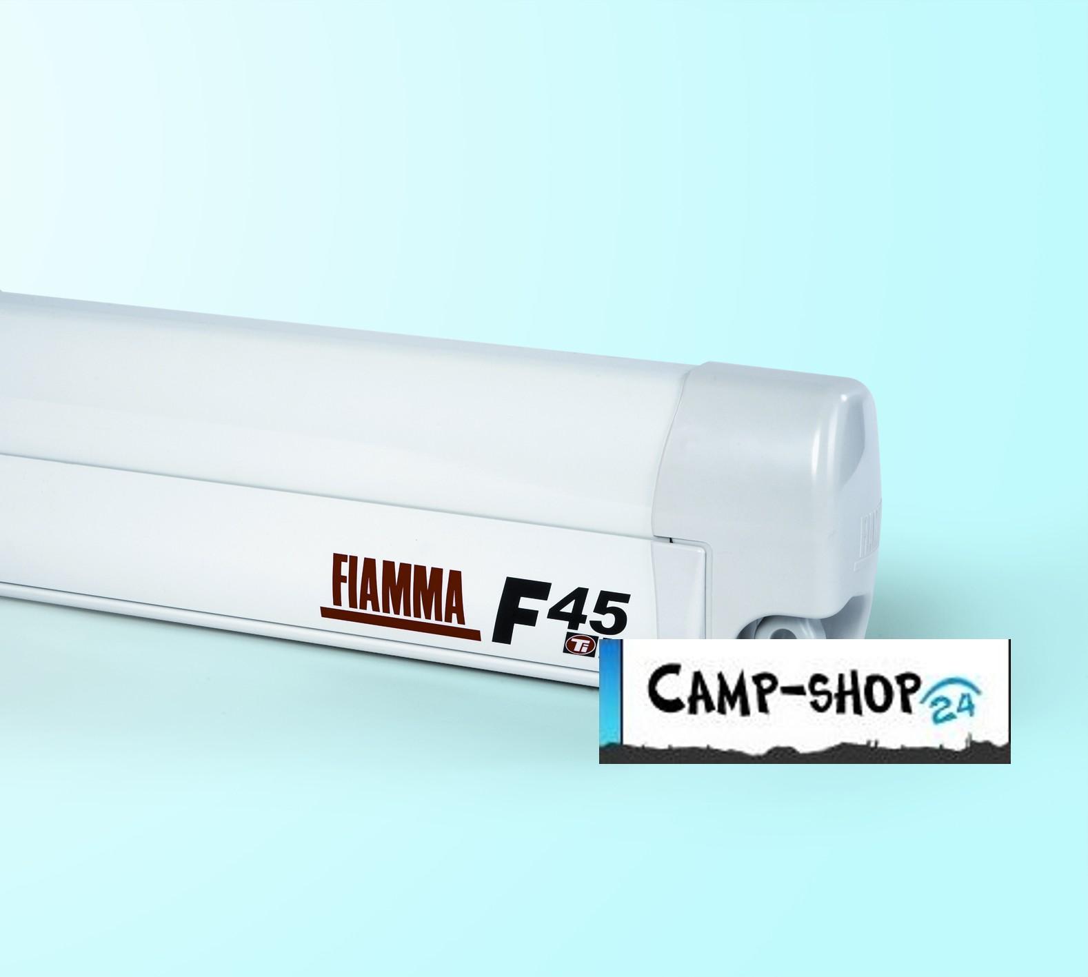 Markise Fiamma F45 S Geh Use Wei Deluxe Kurbelmarkise