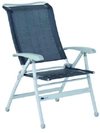 Dukdalf campingstuhl limbo xxl klappstuhl alu anthrazit for Stuhl 200kg belastbar
