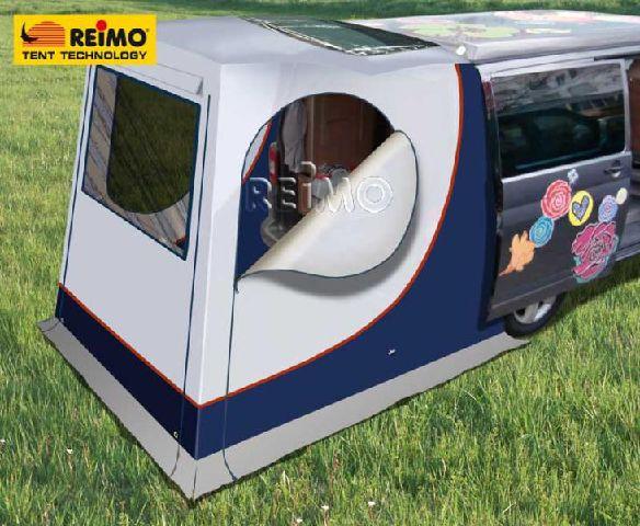 heckzelt upgrade f r vw t5 mit heckklappe und renault traffic opel vivaro neu ebay. Black Bedroom Furniture Sets. Home Design Ideas