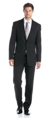studio coletti herren anzug schwarz gestreift nadelstreifen 2 teilig ebay. Black Bedroom Furniture Sets. Home Design Ideas