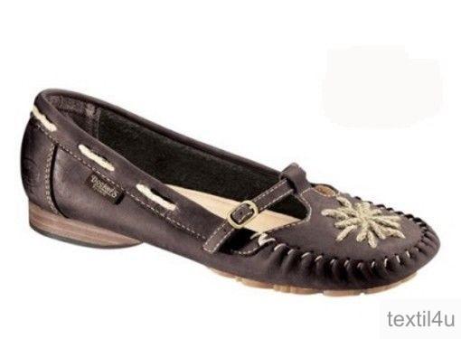 docker damen slipper mokassins leder braun ebay. Black Bedroom Furniture Sets. Home Design Ideas