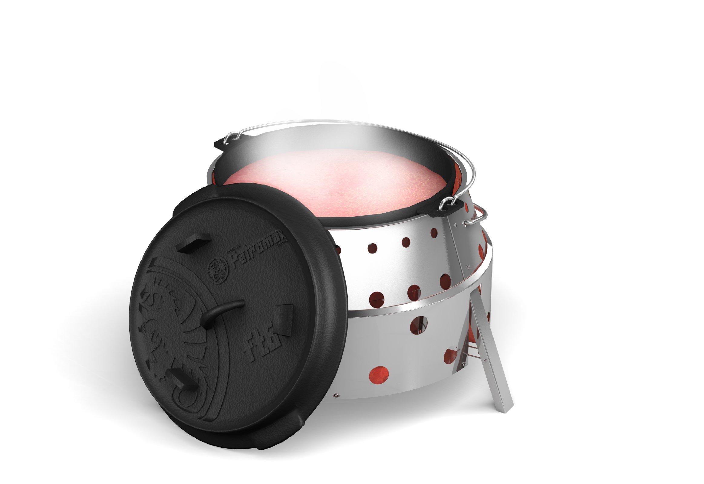 Petromax Atago GRILL IN ACCIAIO INOX GRILL BRACIERE forno