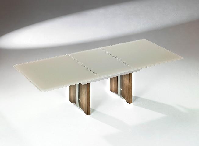 Ilse Kombi Lift Tisch ~ ILSE 2111NMM Couchtisch Tisch ausziehbar Kombi Lift KernNussbaum machiato Gl