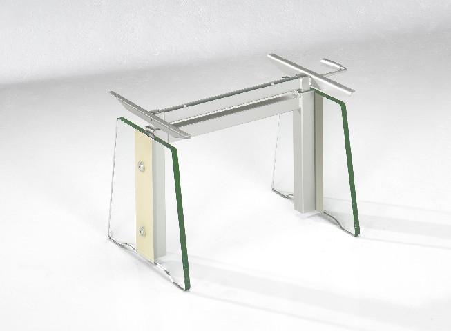 Ilse Kombi Lift Tisch ~ IlseLift Couchtisch Tisch Glas machiato ausziehbar +HV  eBay