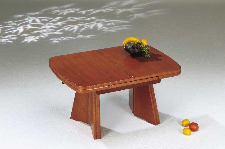 Ilse 1982kir couchtisch tisch kirschbaum lift auszug ebay for Tisch kirschbaum