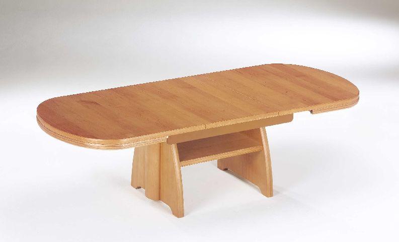 Ilse Kombi Lift Tisch ~ ILSE 2107RAN Couchtisch Tisch ERLE Kombi Lift höhenverstellbar ausziehbar NEU