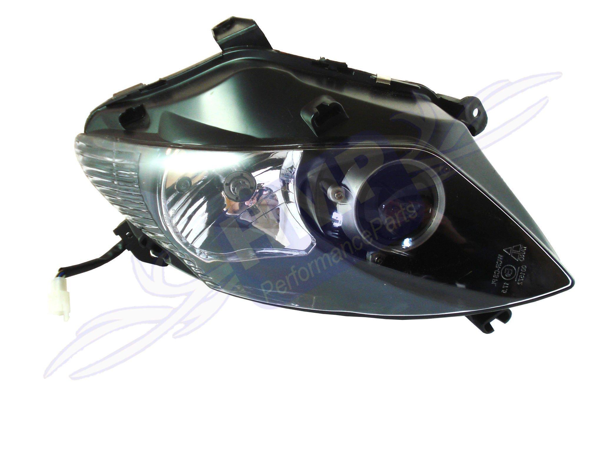 hmparts motorrad roller scooter scheinwerfer mit leuchtmittel rechts ebay. Black Bedroom Furniture Sets. Home Design Ideas