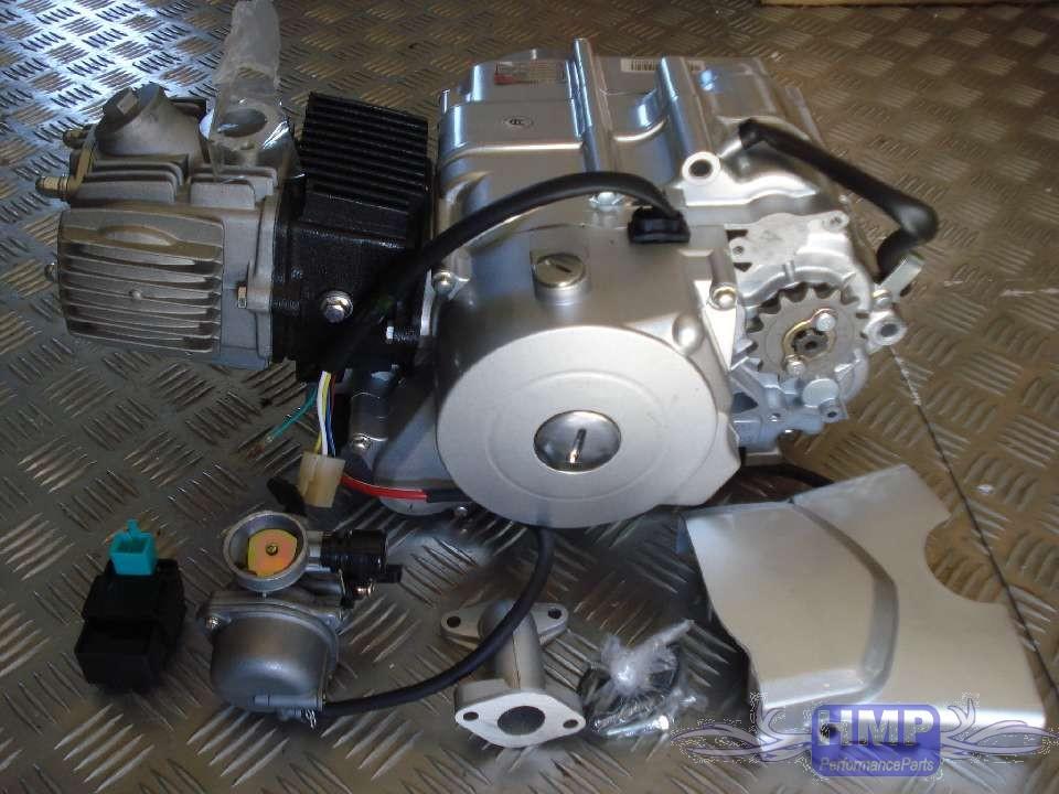 Quad Rc Atv Motor Set 110 Ccm Vollautomatik