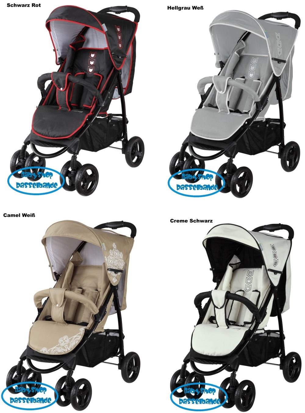 knorr baby buggy sportwagen streeter 2015 in verschiedenen farben ebay. Black Bedroom Furniture Sets. Home Design Ideas