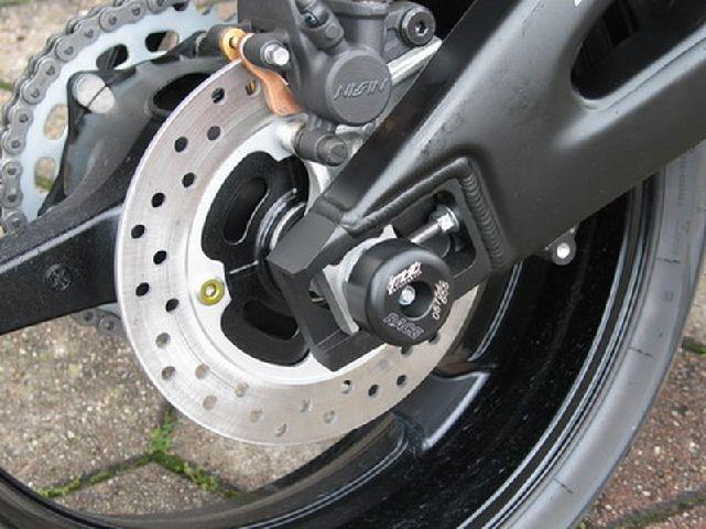 GSG Moto Sturzpads Hinterrad NEU Honda CBR600RR PC40 07-08 CBR 600 RR