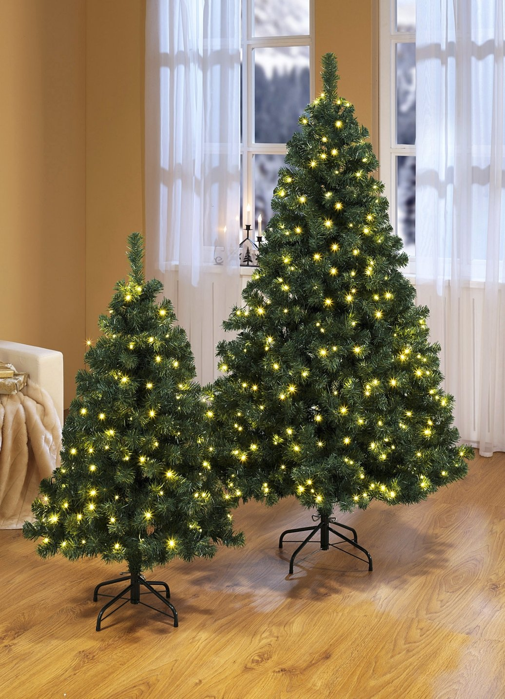 weihnachtsbaum 120 cm beleuchtet christbaum tannenbaum dekoration baum k nstlich ebay. Black Bedroom Furniture Sets. Home Design Ideas