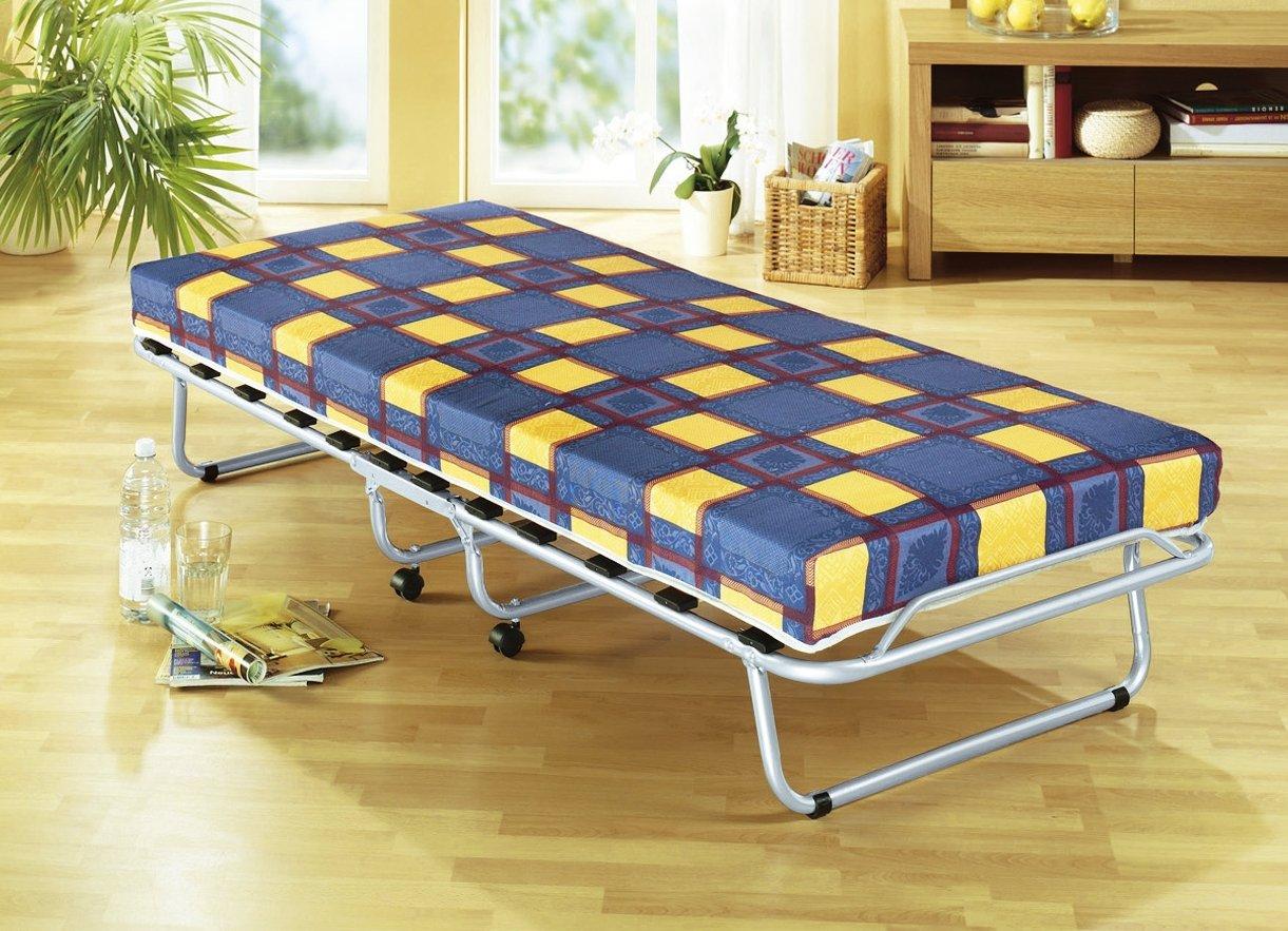 neu veraflex bergamo g stebett 90x190 klappbar bett mit matratze klappbett ebay. Black Bedroom Furniture Sets. Home Design Ideas