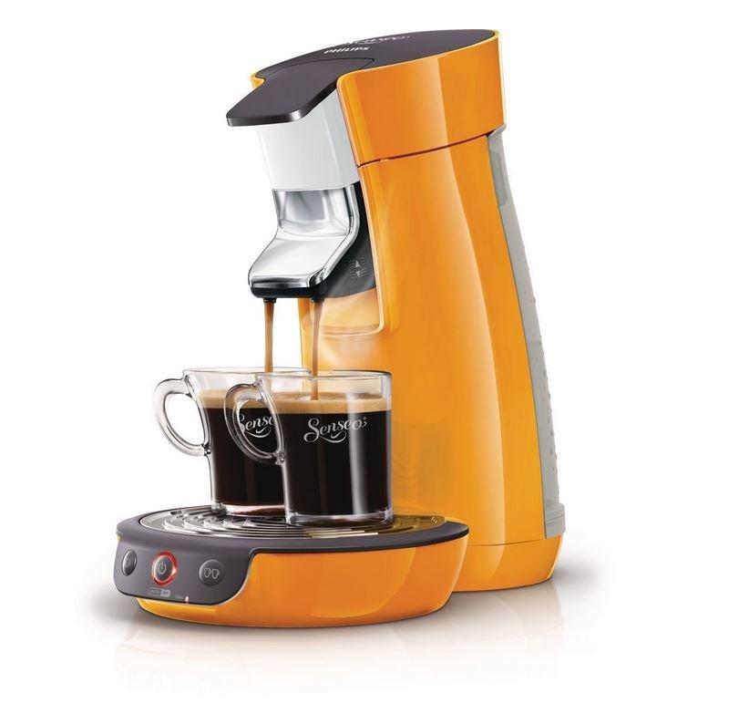 philips senseo viva cafe hd7825 orange kaffeepadmaschine kaffeemaschine ebay. Black Bedroom Furniture Sets. Home Design Ideas