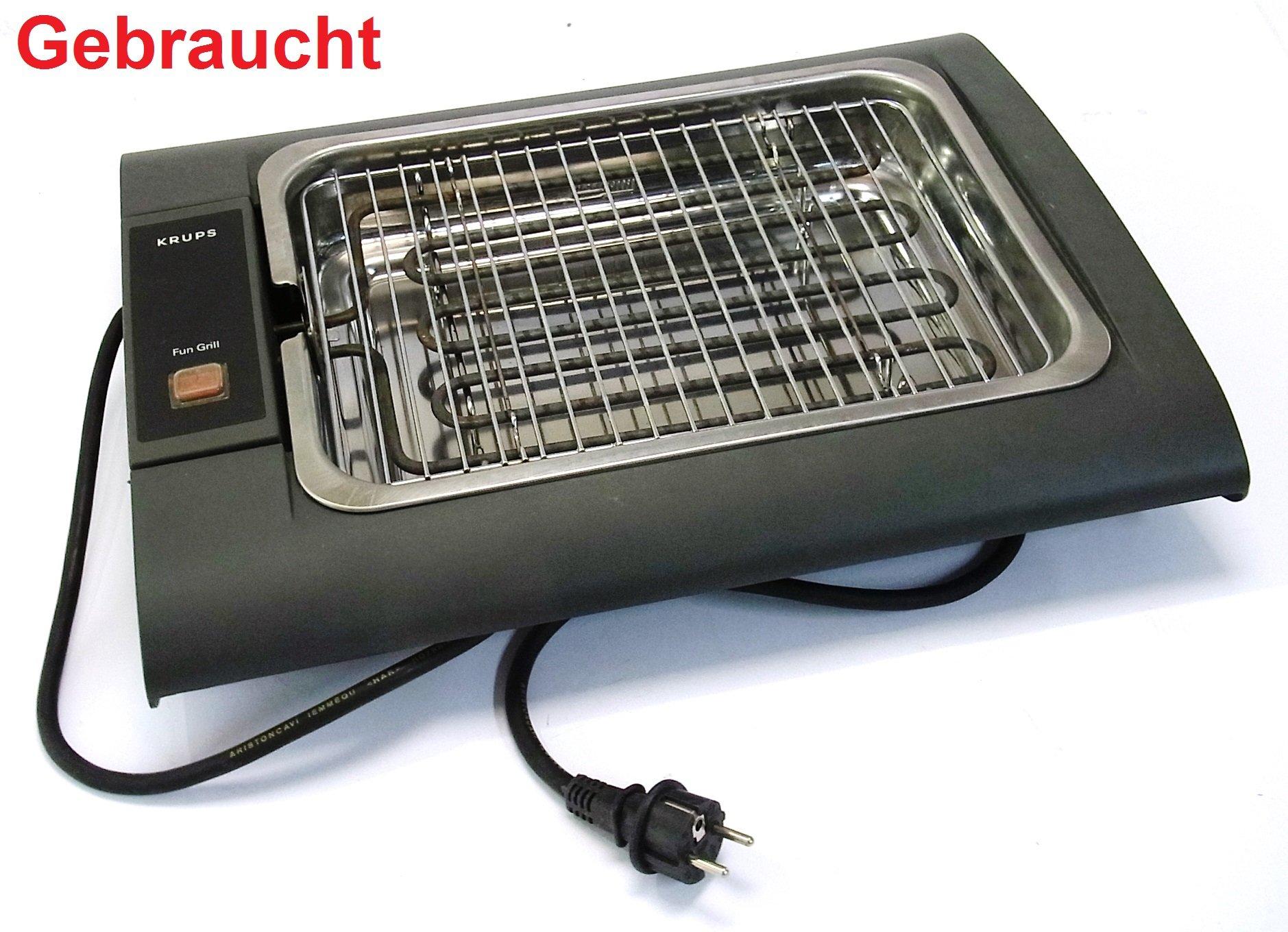 krups fun grill 361 tischgrill elektrisch elektrogrill indoor fun grill 2500 w ebay. Black Bedroom Furniture Sets. Home Design Ideas