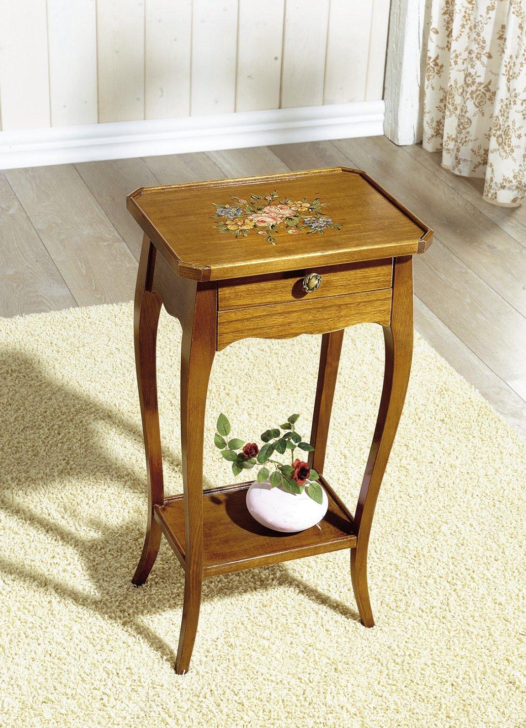 beistelltisch telefontisch tisch dielentisch m bel. Black Bedroom Furniture Sets. Home Design Ideas