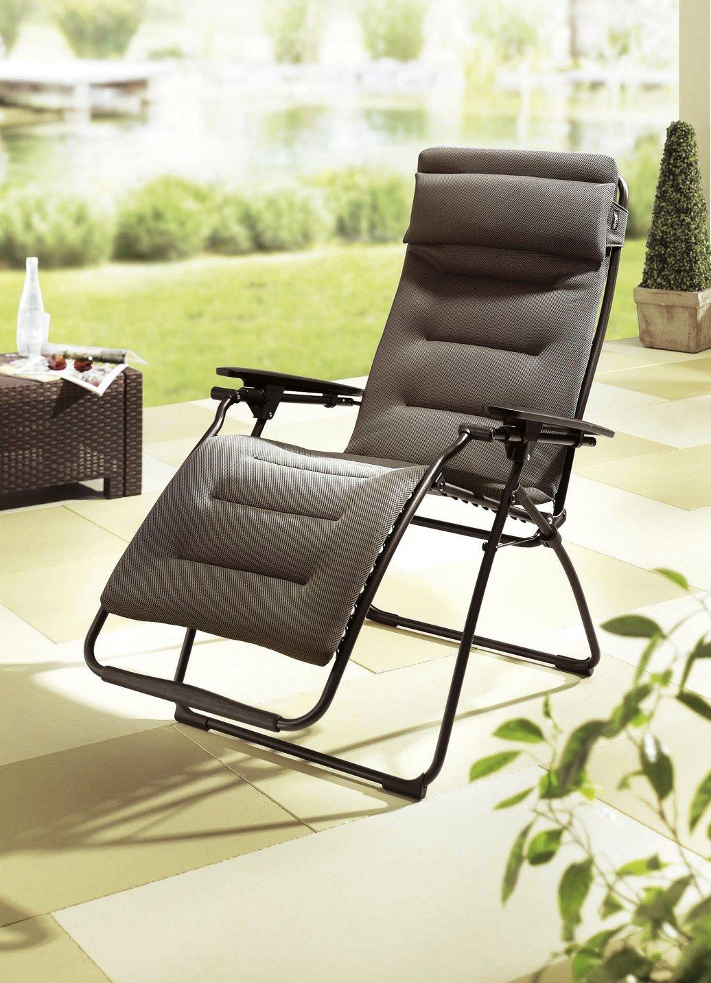 Lafuma air comfort relax liege gartenliege sonnenliege - Lafuma relax liegestuhl ...
