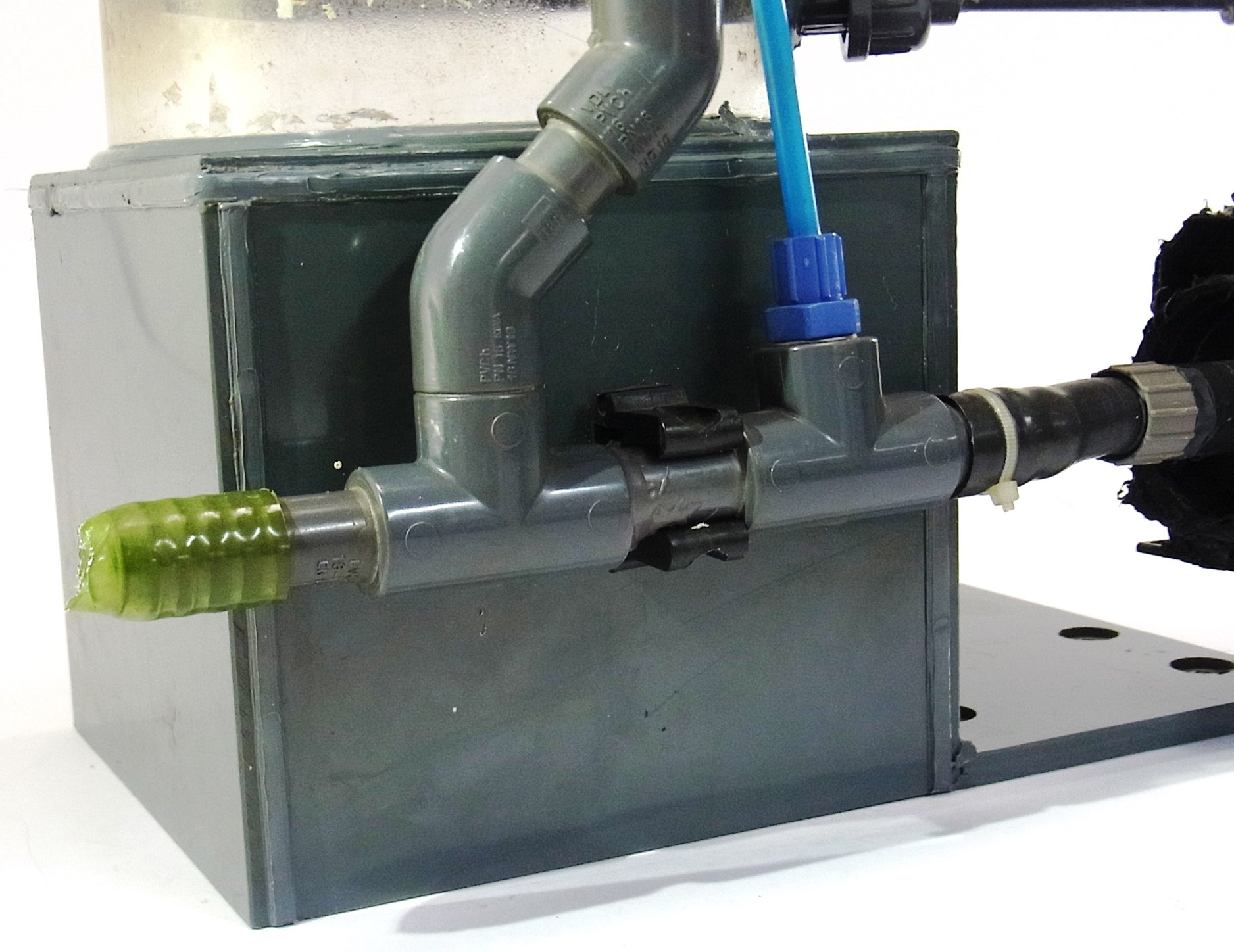 h s kalkreaktor 150 f2000ia mit eheim pumpe aufh rtfilter aquarium meerwasser ebay. Black Bedroom Furniture Sets. Home Design Ideas