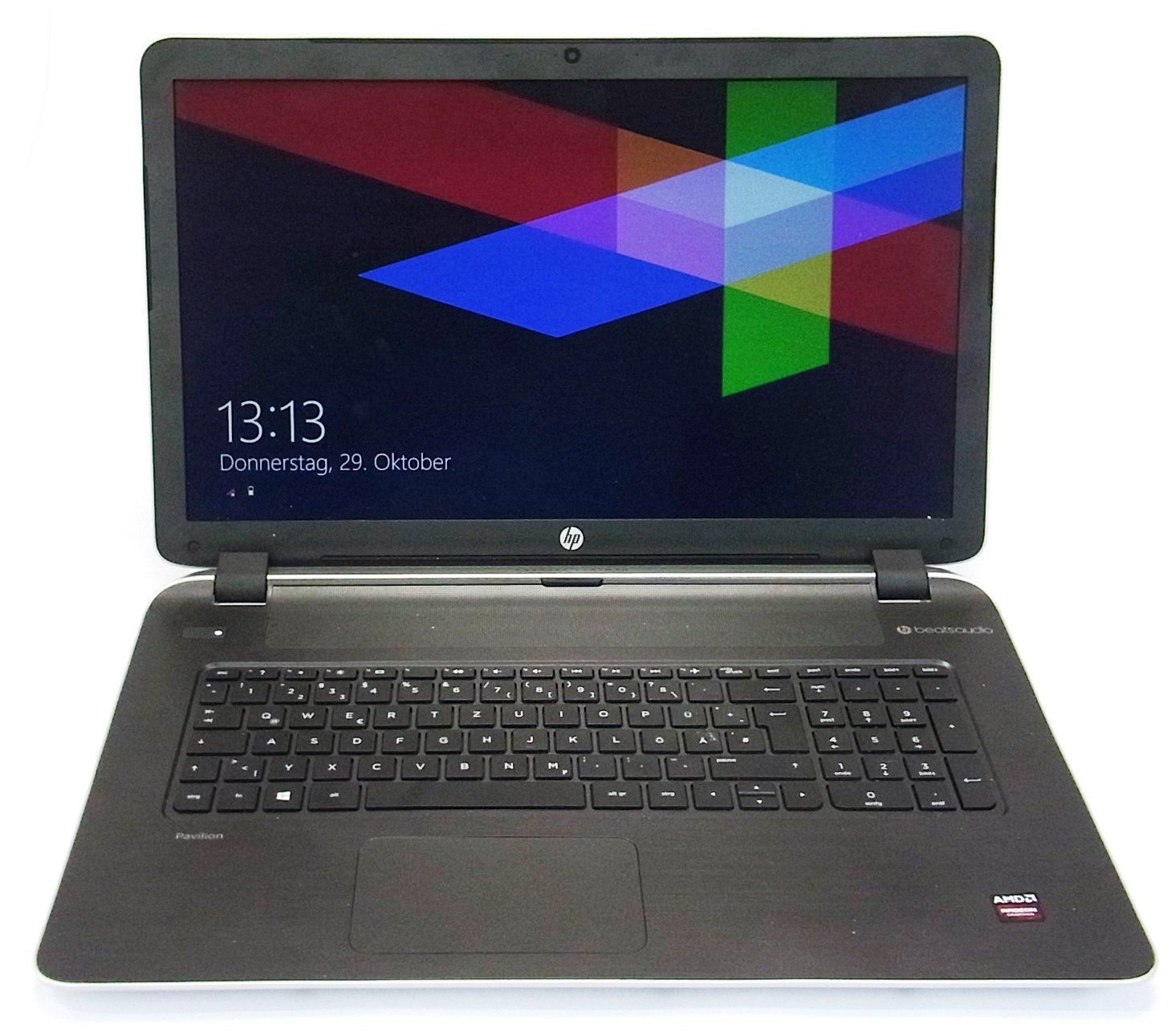 hp pavilion 17 f025ng notebook pc laptop computer 8gb ram. Black Bedroom Furniture Sets. Home Design Ideas