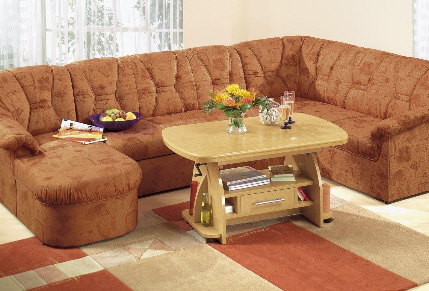 couchtisch rotbuche buche erle h henverstellbar. Black Bedroom Furniture Sets. Home Design Ideas
