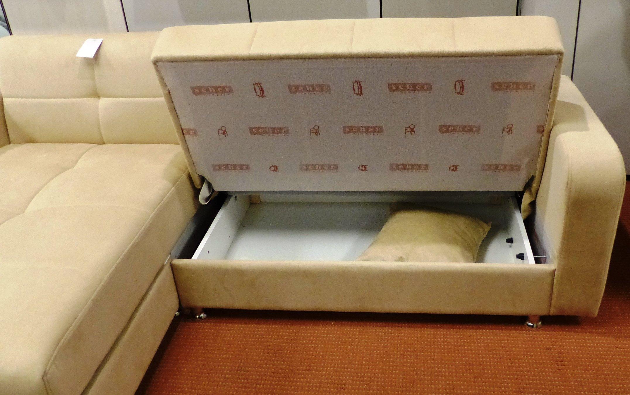 l form wohnlandschaft microfaser beige sofa couch. Black Bedroom Furniture Sets. Home Design Ideas
